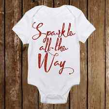Sparkle All The Way with Ornament Christmas Onesie - Outfit for Baby Girl
