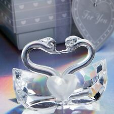 Choice Crystal Collection Kissing Swans - Anniversary Favors / FC-2245