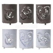 Wedding Home Decor Light Round Hanging Stand Tealight Candle Holder Candlestick