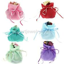 Wedding Bridal Shower Festival Party favor Colorful Decor Candy Bag Gift Pouches