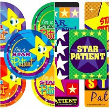 Star Patient x 15 - Patient Nurse Doctor Health Dentist Rewards Medical Stickers