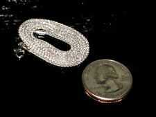 Solid 925 Sterling Silver 1mm Necklaces - Lengths: 16 18 20 22 24 Inches - Italy