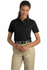 CornerStone CS403 Ladies Industrial Pique Polo Golf Shirt NEW S-4XL