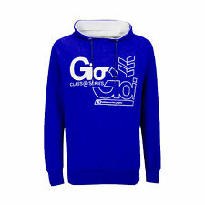 GIO GOI MENS DECKER HOODED HOODIE SWEAT TOP HOODY  - BLUE RRP £29.99 SAVE 60%