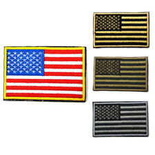 American Flag Embroidered Patch Iron-On USA United States America US Warehouse