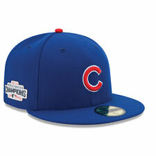 Chicago Cubs New Era 2016 World Series Champions Side Patch 59FIFTY Fitted Cap
