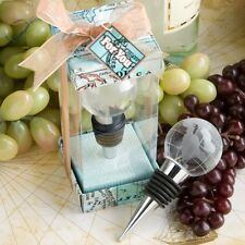 Glass Globe Design Wine Bottle Stopper Favors - Wedding Favors / FC-1933