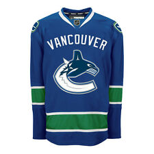 Vancouver CANUCKS Reebok AUTHENTIC Officially Licensed NHL EDGE Jersey,
