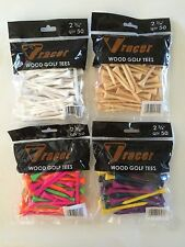 "Tracer Teez - 2 3/4"" Wooden Golf Tees - 50 Pack"