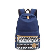 Brand Quality Floral Canvas Bag Backpack School Printing Backpack Women Backpack