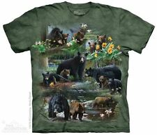 Bear Collage T-Shirt - Adult S - 5X