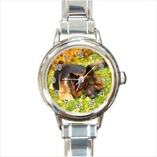 German Shepard Italian Charm Watch (Battery Included)