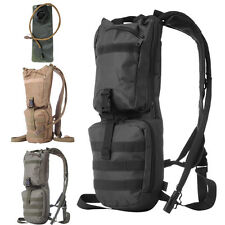 3L Water Bladder Bag Hydration Pack Backpack for Hiking Camping