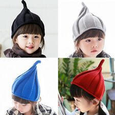 Lovely Unisex Winter Children's Baby Kids Infant Knitted Cap Pointed Hat New