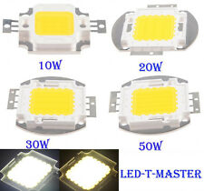 1/5/10pcs 10W 20W 30W 50W High Power White LED Lamp Light COB SMD Bulb Chips DIY