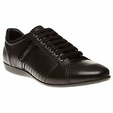 Versace Collection V900421 Leather Black Mens Sneaker