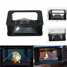 """3D 360° holographic box mount for 3.5~5.5"""" mobile phone Samsung iPhone6s 6 5s 5"""