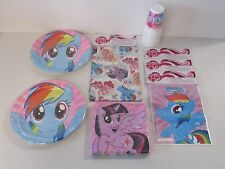 My Little Pony Tableware plates, cups, napkins etc - create your own party pack