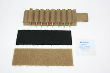 AAT Coyote Brown Pouch Rifle 8 Shell card Kit with Velcro® Brand Fasteners USA