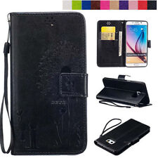 Magnetic Flip Phone Protective Case for Apple iPhone PU Leather Patterns Cover
