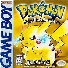 GB Pokemon Yellow Pikachu Edition Nintendo Game Boy 1999 NEW SAVE BATTERY Tested