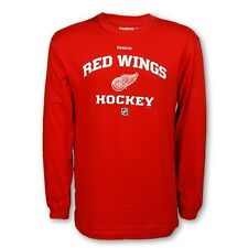Detroit Red Wings Youth Long-Sleeve 2012-13 Team Authentic T-Shirt
