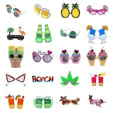 Unisex Hawaiian Novelty Hula Beach Fancy Dress Costume Hen Party Sunglasses