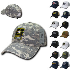 Law Enforcement Military Army Fire Dept EMT Air Force Relaxed Cotton Caps Hats