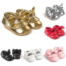 Baby Lovely Soft Soled PU Leather Shoes Infant Boy Girl Toddler Moccasin 0-18M