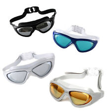 Adult Adjustable Eye Protect Non-Fogging Anti UV Swimming Swim Goggle Glasses