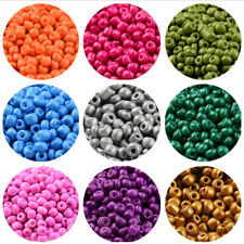50g 6/0 Glass Seed Loose Beads Small Space Bead Opaque Colour DIY Jewelry Making