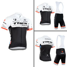Mens Team Cycling Short Sleeve Jersey Shirt Bib Shorts Kits Bicycle Race Outfits