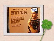 "POCKET SONGS KARAOKE CDG 1166 - SING THE HITS OF ""STING"""