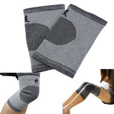 Bamboo Charcoal Knee Pad Support Brace Kneecap Protector Compression Sleeve