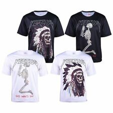 Casual top God Wants You Casual T-Shirts Cool Skeleton Yeezus Skull Top Clothes