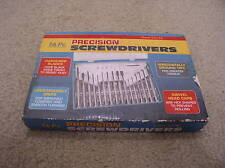 16 pc small mini  PRECISION SCREWDRIVERS for Waches, Jewelry, Electronics... NOS