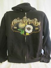 Allman Brothers Band Hoodie Zipper Sweatshirt Rock Music Duane Gregg New XL 189