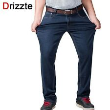 Drizzte Mens Big and Tall High Stretch Plus Size 36 to 52 Jeans Denim Business R