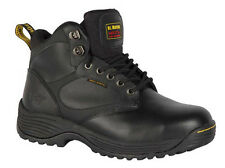 Dr Martens DRAX Safety Boots Black Steel Toe Caps & Midsole Mens Work Boots Pre