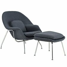 Womb Chair Replica with Ottoman | Lounge Chair