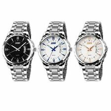 Hot Men Fashion Watches Dial Stainless Steel Sport Wrist Watch Quartz Wristwatch
