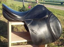 "17.5"" Med Stubben Roxane VSS all purpose - jumping English saddle black TRIAL"