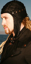 LIP SERVICE - STEP IN TIME - UNISEX BOMBER HAT - STEAMPUNK