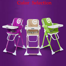 H215 Multifunction Folding Baby High Chair Recline Highchair Feeding Seat Super