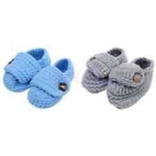 Baby Infant Toddler Crib Shoes Boy Girl Winter Soft Sole Crochet Knit Prewalker