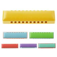 10 Holes Plastic Harmonica Mouth Organ Kids Musical Instrument Toy Xmas Gifts