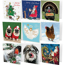 Pack of 10 Quentin Blake Childline Charity Christmas Cards
