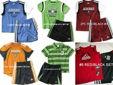 * NWT NEW BOYS 2PC ADIDAS SHIRT SUMMER OUTFIT SET 12M 18M 24M