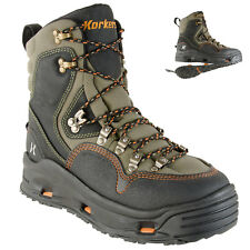 Korkers K-5 Bomber Fly Fishing Wading Boots w/ Convertible Outsoles - All Sizes