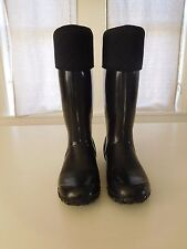 Bogs Alex Black Insulated Boots Size 9